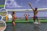 Voleibol inflable de la playa de la arena del equipo del juego del agua