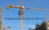 Guindaste de torre da cabeça de martelo com carga de 4 toneladas