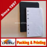 Wenig Black 6-Ring Binder mit Pack von 100 Ruled Sheets (520052)
