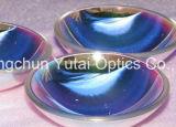 Bk7 Vidrio óptico, cristal de zafiro, lente esférica