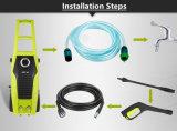 홈과 차 1600W를 위한 세륨 승인 고압 세탁기