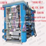 Machine de 8 Couleur d'impression flexographique pour les Coupes du papier et du film plastique