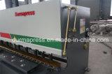 Durmapress QC12y-6*3200 hydraulische scherende Maschine mit E21s Controller, CNC-Profil-Ausschnitt-Maschine, Eisenstange-Ausschnitt-Maschine