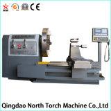 Lathe CNC высокого качества горизонтальный для подвергая механической обработке колеса сплава (CK61125)