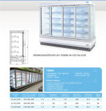 Multideck Display Chiller com Six Glass Door