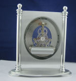 Relógio de mesa de metal escovado de alta qualidade K8058se