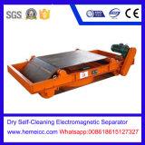 Het droge Zelfreinigende Elektromagnetische Type van Riem van de Separator voor het Verwijderen van Ijzer