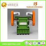 Solo eje trituradora de residuos de papel y caja de plástico máquina de reciclaje