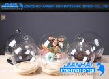 Hauptfertigkeit-Kugel-Dekoration-Glasglasglocke für Feiertags-Geschenke