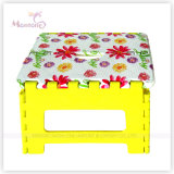 Sublimation Printingの25*20*20.5cm Sturdy Plastic Foldable Stool