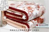 A impressão de diamante flanela de manta de lã