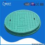 Coperchio di botola composito verde del tondo 700mm