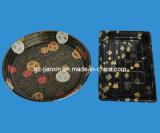 Tary di plastica modellato degradabile con il coperchio