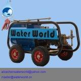 Acero inoxidable de alta presión de chorro de agua Fregasuelos