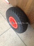Maxtop 공장 압축 공기를 넣은 고무 외바퀴 손수레 바퀴 (4.10/3.50-4 4pr)