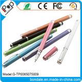 Stylus Pen 2 en 1 stylo à bille Pearl Color avec une pointe de couleur Gemstone