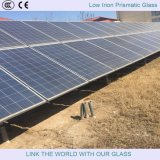 """il vetro prismatico del ferro basso di 4mm/ha temperato il vetro """"float"""" basso del ferro"""