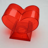 Transparenter Hochzeits-Geld-acrylsauerkasten (PT3138-2)