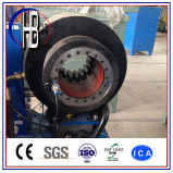 China Factory Professional Fabrication 1/4 '' ~ 2 '' Hydraulic Hose Swaging Machine