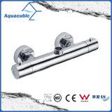 L'ottone dell'acquazzone della stanza da bagno cromato Anti-Scotta il colpetto termostatico (AF4102-7)