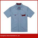 Workwear modificado para requisitos particulares del algodón de la manera para los hombres y las mujeres (W160)