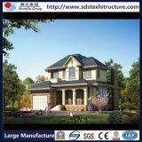 강철 프레임 조립식으로 만들어진 별장 및 살아있는 집