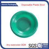 Bandeja plato desechable plástico redondo reciclables