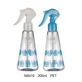 Bottiglia di plastica con lo spruzzatore di innesco per cura personale (NB415)