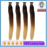 La meilleure qualité de gros pré 24 pouces Couleur de cheveux collés avec ombre