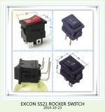Excon Ss21 Interruptor de balancín con la lámpara Interruptor de balancín de la energía