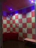 Feuille interne insonorisée de panneau de trou de panneau de plafond de panneau de panneau de mur d'écran antibruit de décoration d'art/de mur de panneau de panneau de Hoheycomb de panneau panneau de fente