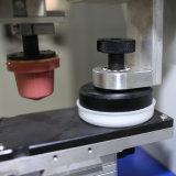 쉬운 닫히는 잉크 컵을%s 가진 1개의 색깔 패드 인쇄 기계를 운영하십시오