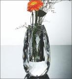 Vaso di fiore della decorazione di cristallo