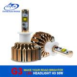 車のヘッドライトの変換キット6000kのためのG3 LEDのヘッドライトの球根H3車LEDのヘッドライト60W 6400lm