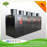 Tratamiento de aguas residuales combinado subsuperficie para eliminar los iones de metales pesados