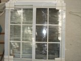 Finestra a tenuta d'acqua/insonorizzata/dell'Calore-Isolamento di 88 serie PVC di scivolamento