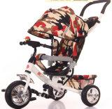 多機能の赤ん坊の三輪車、ベビーカーは、1の自転車4をからかう