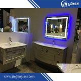 Espejo elegante del acero inoxidable LED del cuarto de baño con Bluetooth