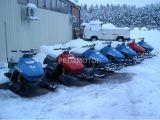 150CC Snowmobiel, fanno saltare lo Snowmobile classico dell'OEM del modello, parti del longarone di Snowmobile dell'OEM