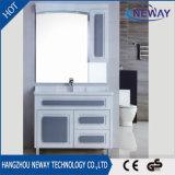 Governo di stanza da bagno classico del mobilio non pensile del pavimento con lo specchio