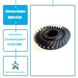 주문을 받아서 만들어진 고무 주입 제품 산업 설비 기계는 고무 기어 바퀴를 분해한다
