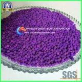 Esferas ativadas da alumina do permanganato de potássio para a adsorção de gáss tóxicos