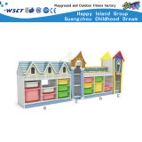 Hot vente de jouets pour enfants Kids étagère en bois Armoire de stockage Ensembles de meubles hc-3303