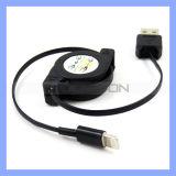 8 Pin USB-Daten-Synchronisierungs-Aufladeeinheits-einziehbares Kabel für iPhone 7