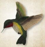 Magneet van de Koelkast van de Vogel van Polyresin de Dierlijke
