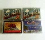 Papier u. bekanntmachende Schürhaken-Karten-kundenspezifisches Firmenzeichen-Plastikspielkarten