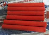 オレンジシリコーンゴムコーティングの部品のローラー