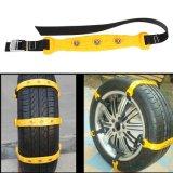 새로운 10PCS/Lot 37X4.7cm 자동차 타이어 눈 사슬 쇠고기 심줄 밴 바퀴 타이어 미끄럼 방지 TPU는 DHL 자유로운 출하를 사슬로 맨다