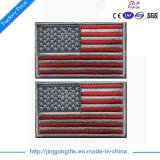 2017 Supply OEM / ODM Patch de broderie de drapeau américain personnalisé de haute qualité