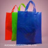 高品質の印刷のプラスチックショッピング柔らかいループハンドル袋